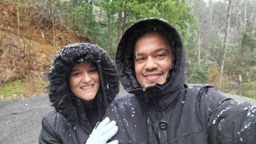 qual o lugar mais perto de Orlando para ver a neve