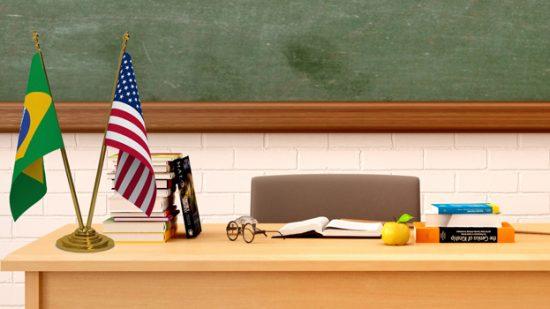 Podemos ter Português como segunda língua nas escolas de Orlando