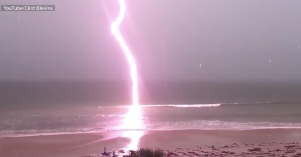 Na Flórida todo cuidado com raios é pouco