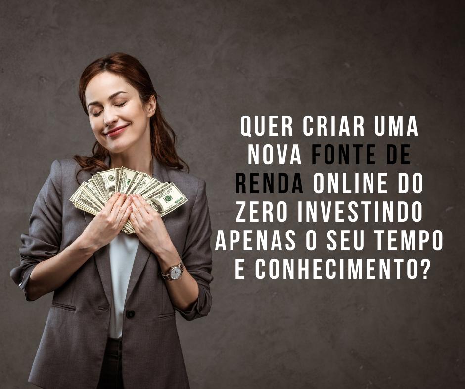 1 nova fonte de renda online sem investimento