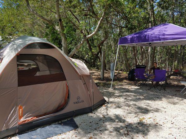 Acampar em Key West é bom?