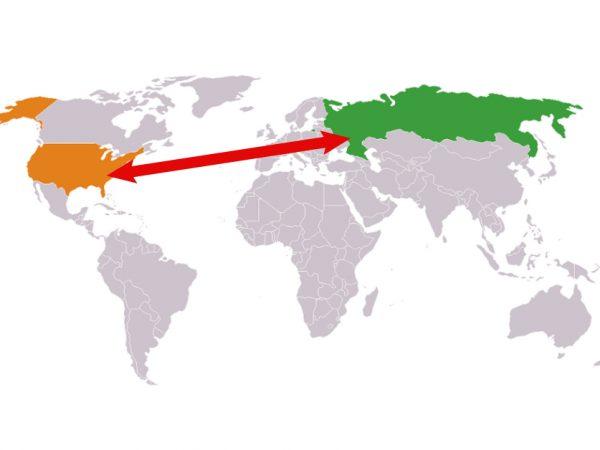 Você sabia que dos Estados Unidos até a Rússia são 5 km?