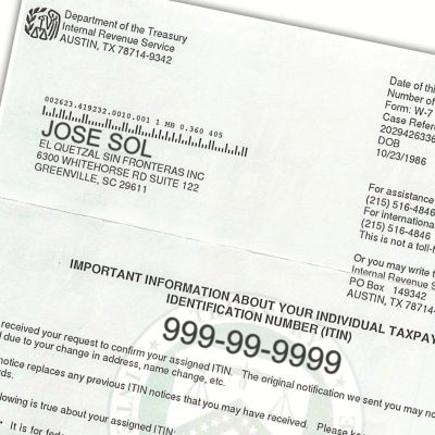 Tax ID Number você está usando corretamente?